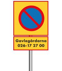 Parkeringsförbudsområde