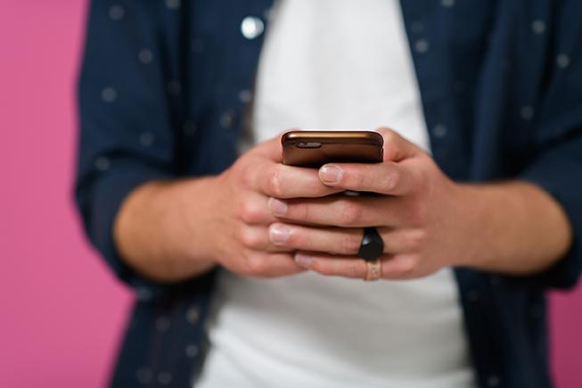 Mobiltelefon SMS